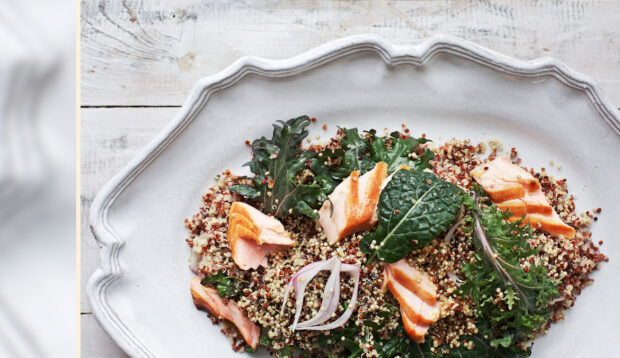 This High-Protein Salmon Curry Salad Is the Perfect Make-Ahead Dinner for Busy Weeknights