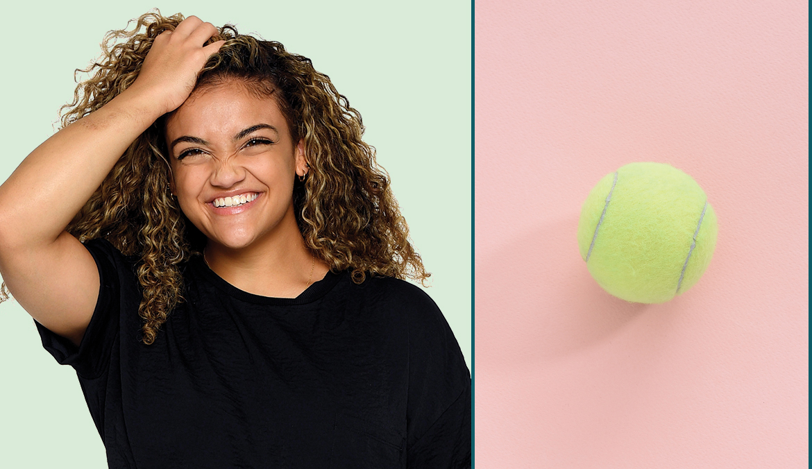 Thumbnail for Why the Humble Tennis Ball Is Olympic Gymnast Laurie Hernandez's Recovery Tool of Choice