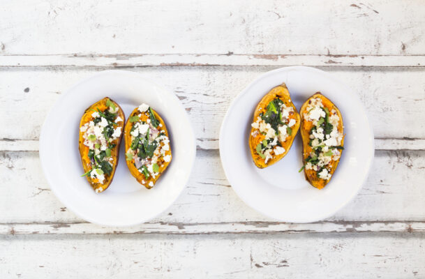 Hungry for an Easy, Healthy Dinner? This Baked Sweet Potato Recipe Is Your New BFF