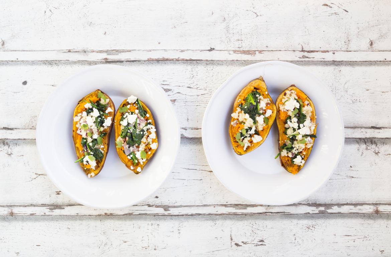Easy Baked Sweet Potato Recipe For An Easy Dinner Well Good