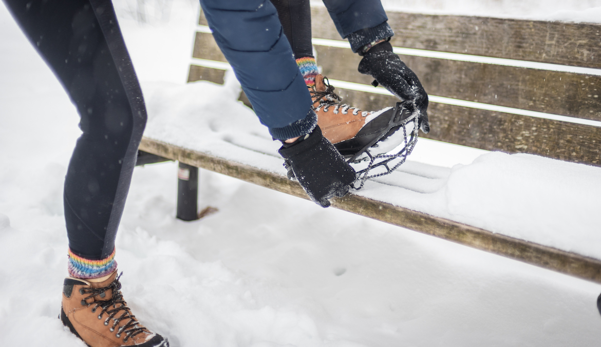 Thumbnail for 5 Pairs of Anti-Slip Crampons To Keep You From Falling On Your Snowy Walks