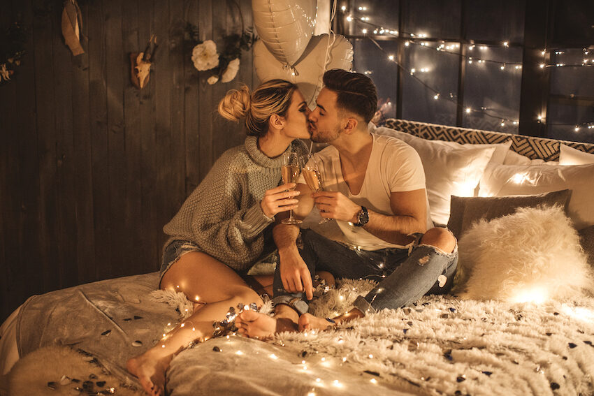 12 Buys Under $50 To Make the Most Romantic Ambiance Possible This Valentine's Day