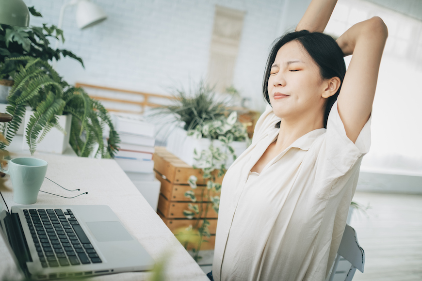5 One-Minute Stretches To Energize You Throughout the Day—and Help You Sleep at Night