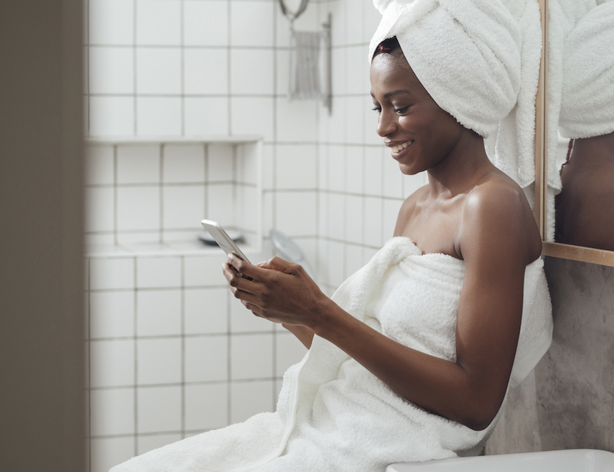Thumbnail for Post-Shower Towel Time Is a Psychologist-Approved Form of Self Care—Here's Why