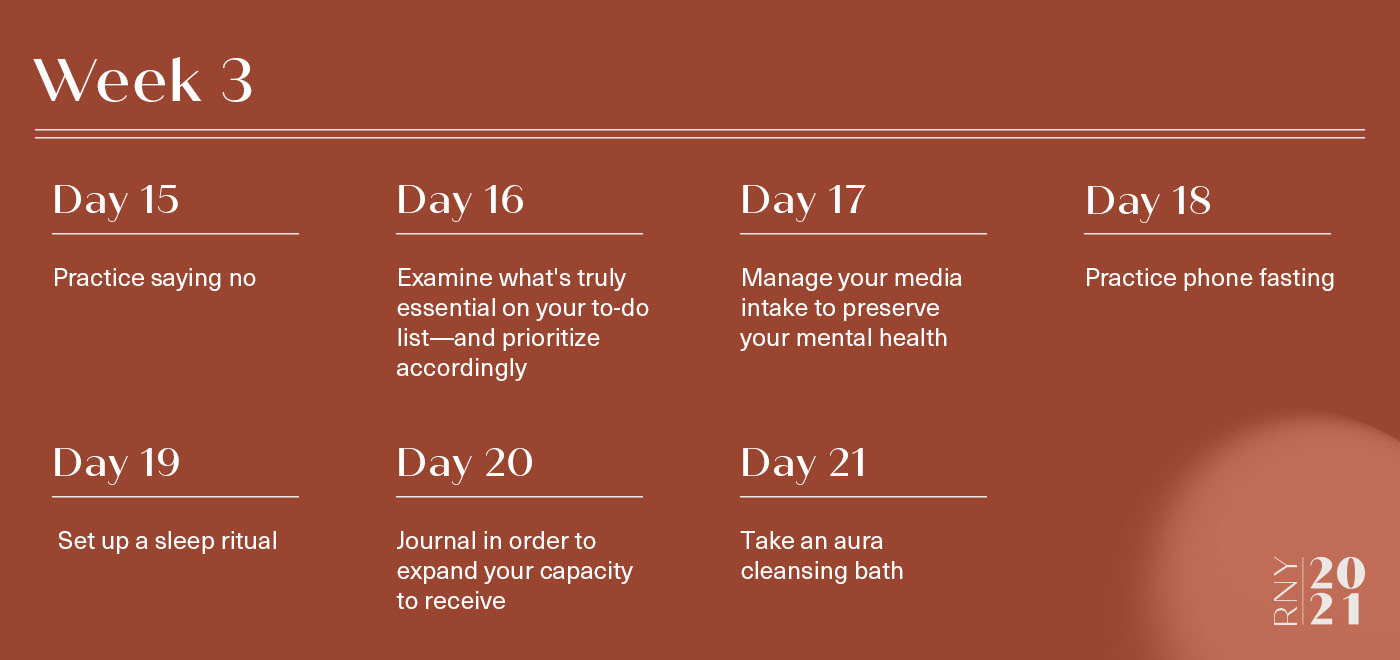 A week of tips to build inner strength