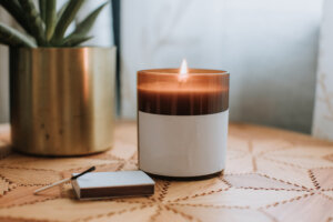 How To Turn Your Old Candle Into a New Planter