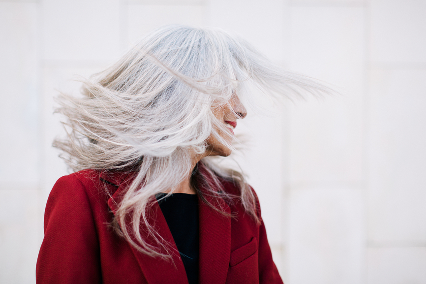 Thumbnail for These Are the Products To Help You Embrace the Beauty of Your Gray Hair