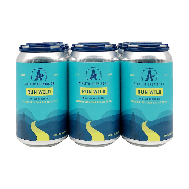 athletic brewing co run wild non-alcoholic beverage brand