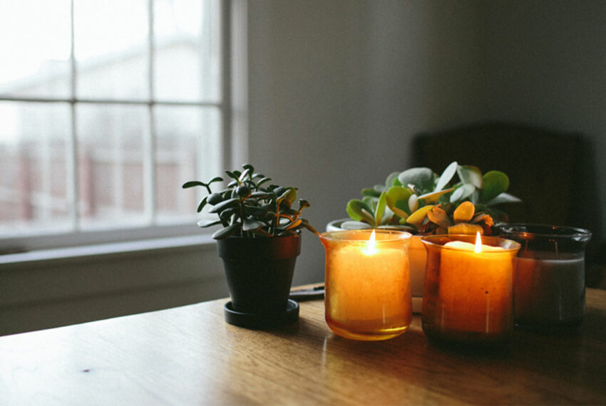 The One Step You're Skipping With Your Candles That Diminishes Indoor Air Quality