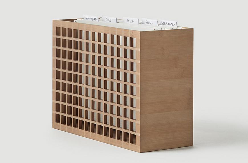 Shoji Bamboo Desktop File