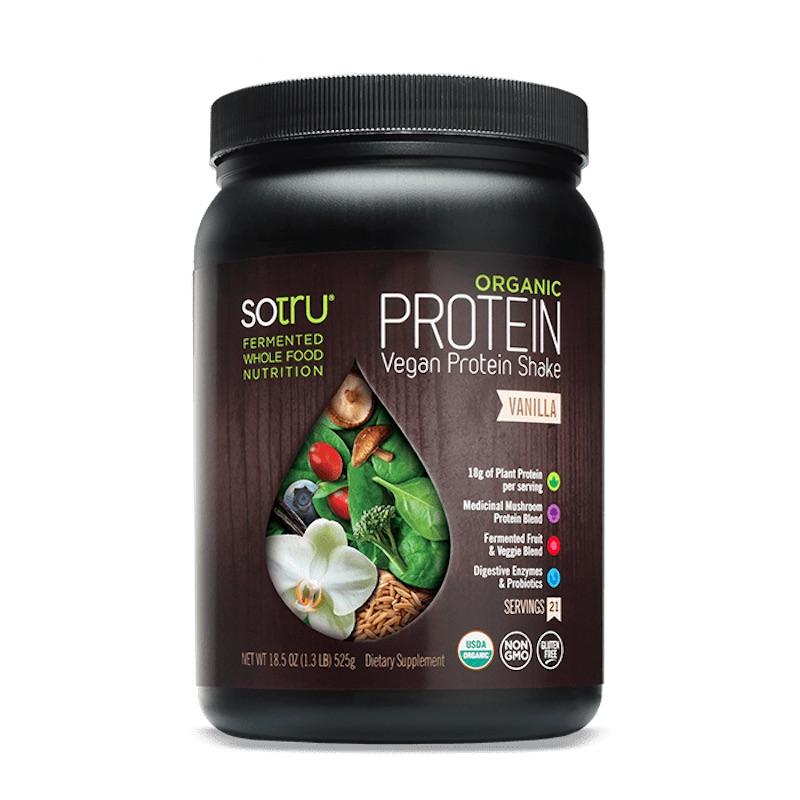 sotru organic vegan protein shake