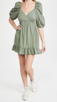 Rahi Puff Sleeve Mini Dress