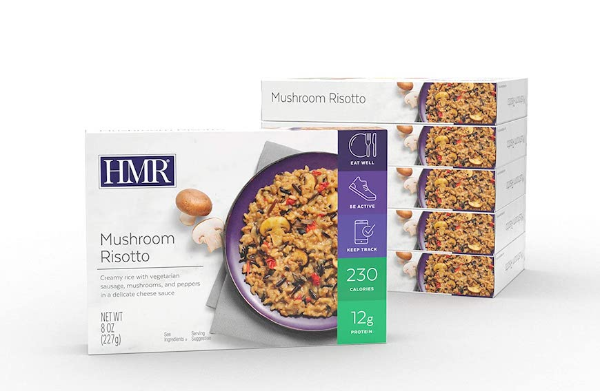 healthy microwaveable meals risotto