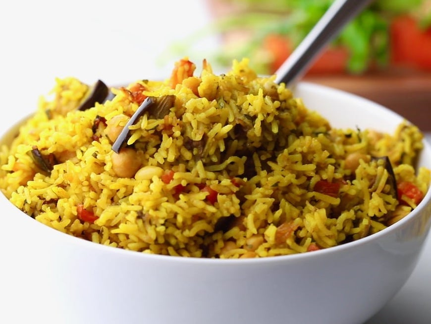 roasted vegetable rice