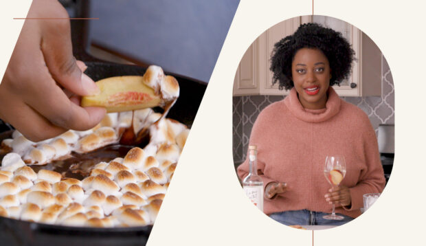 How to Create a Cozy Fireside Moment from the Comfort of Your Couch—And the Dessert-Cocktail...