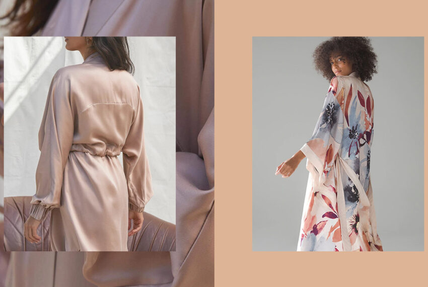 Feeling Glam? Meet the 10 Best Silk Robes To Wear While You Glide Around the House