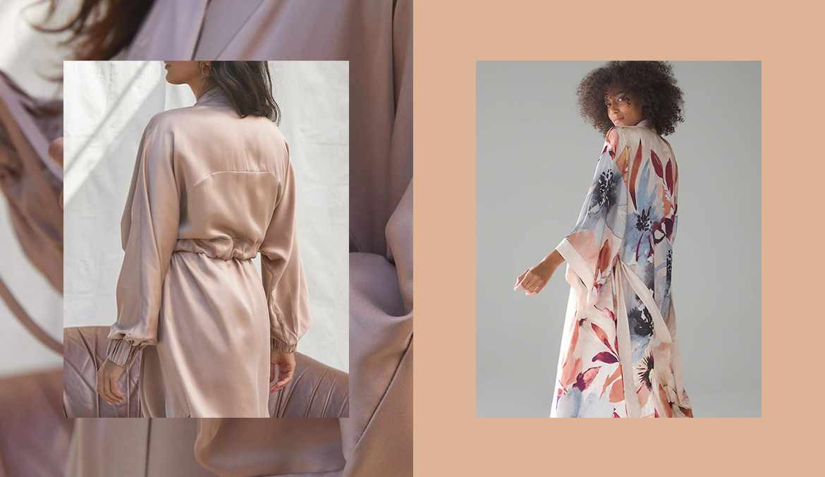 Thumbnail for Feeling Glam? Meet the 10 Best Silk Robes To Wear While You Glide Around the House