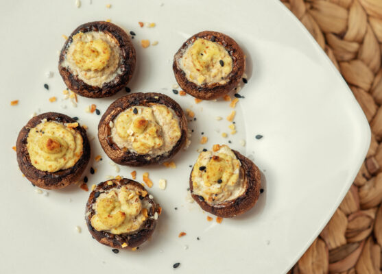 How To Make Tabitha Brown's Famous Vegan 'Deviled Eggs' With Mushrooms and Pickle Juice