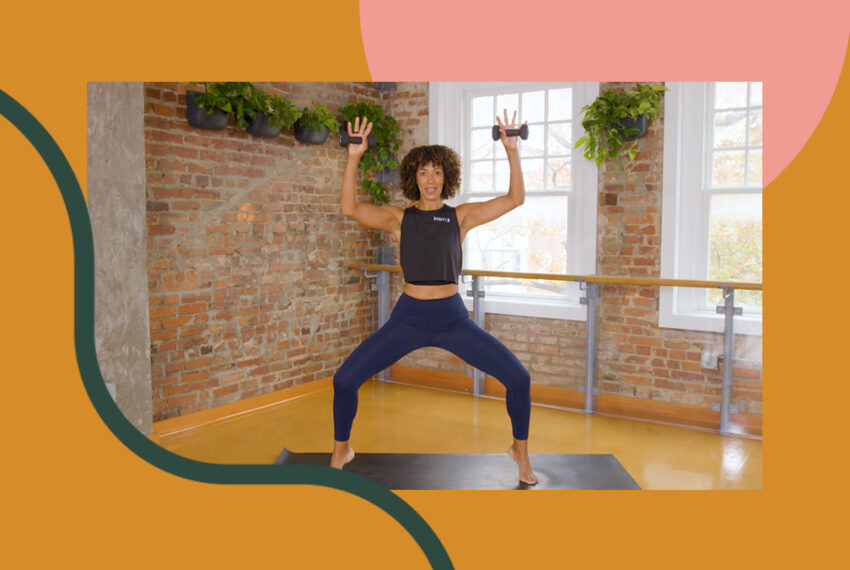 This 20-Minute Barre Workout Sculpts Your Forgotten Arms and Abs