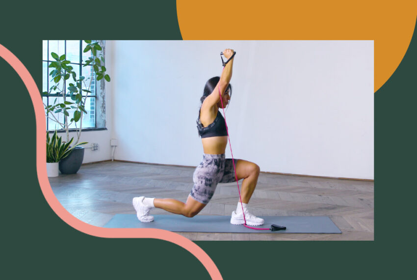 This 20-Minute Full-Body Resistance Band Workout is Deceptively Painful—in the Best Way