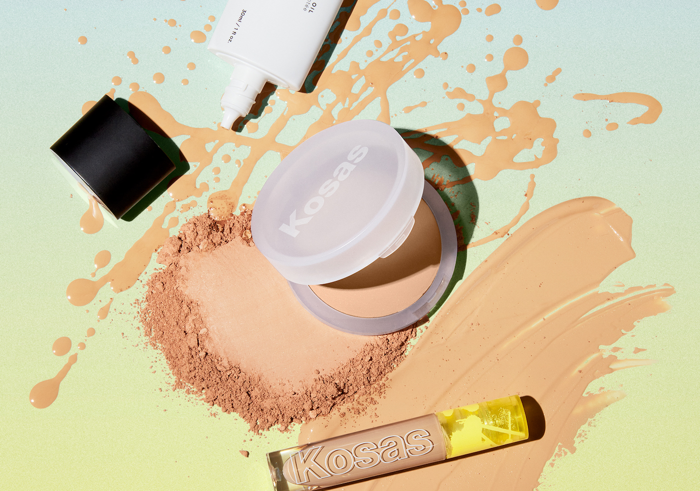 Thumbnail for Kosas Just Dropped a Shine-Zapping Powder That Won't Completely Flatten Your Skin