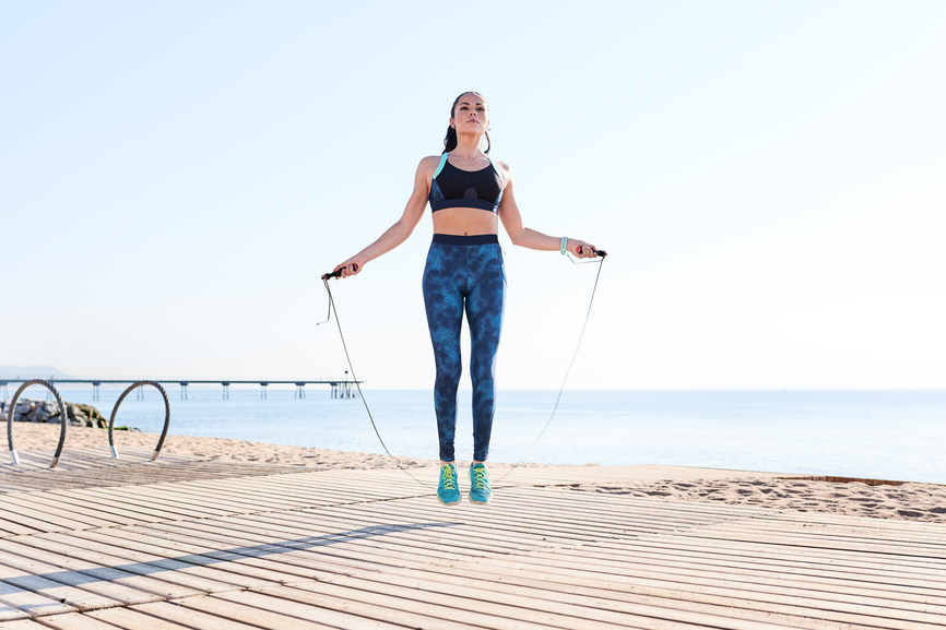 Thumbnail for 9 Rope Exercises That Make You Break a Sweat While Building Major Strength