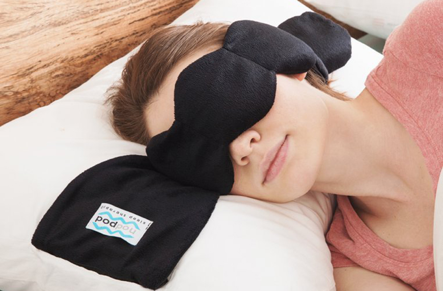weighted eye masks