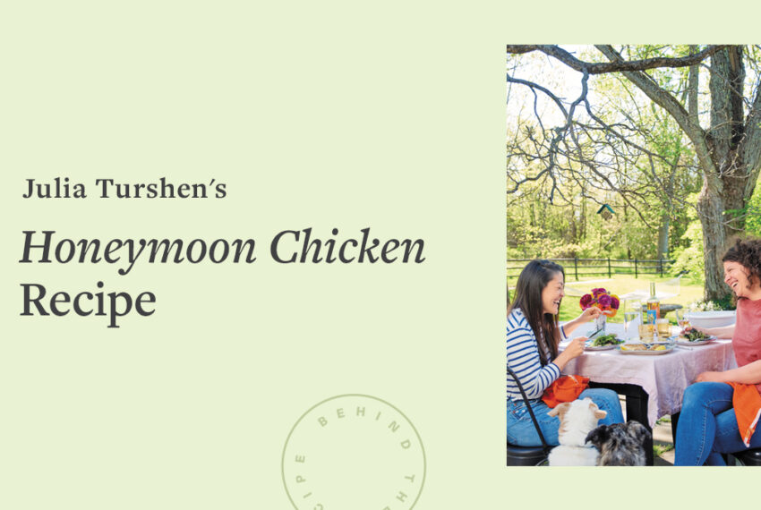 This 'Honeymoon Chicken' Recipe Is Made With Corn Tortillas, Spices, and a Whole Lot of Love
