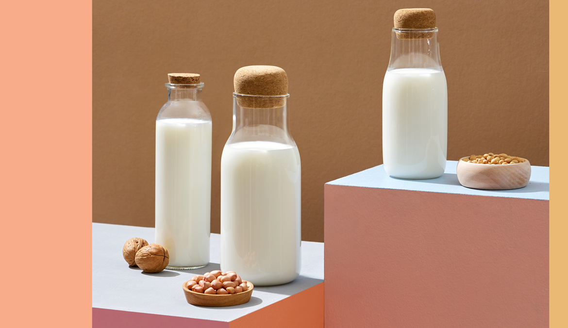 Thumbnail for This Machine Turns Your Favorite Nuts and Grains Into Alt-Milks at Home