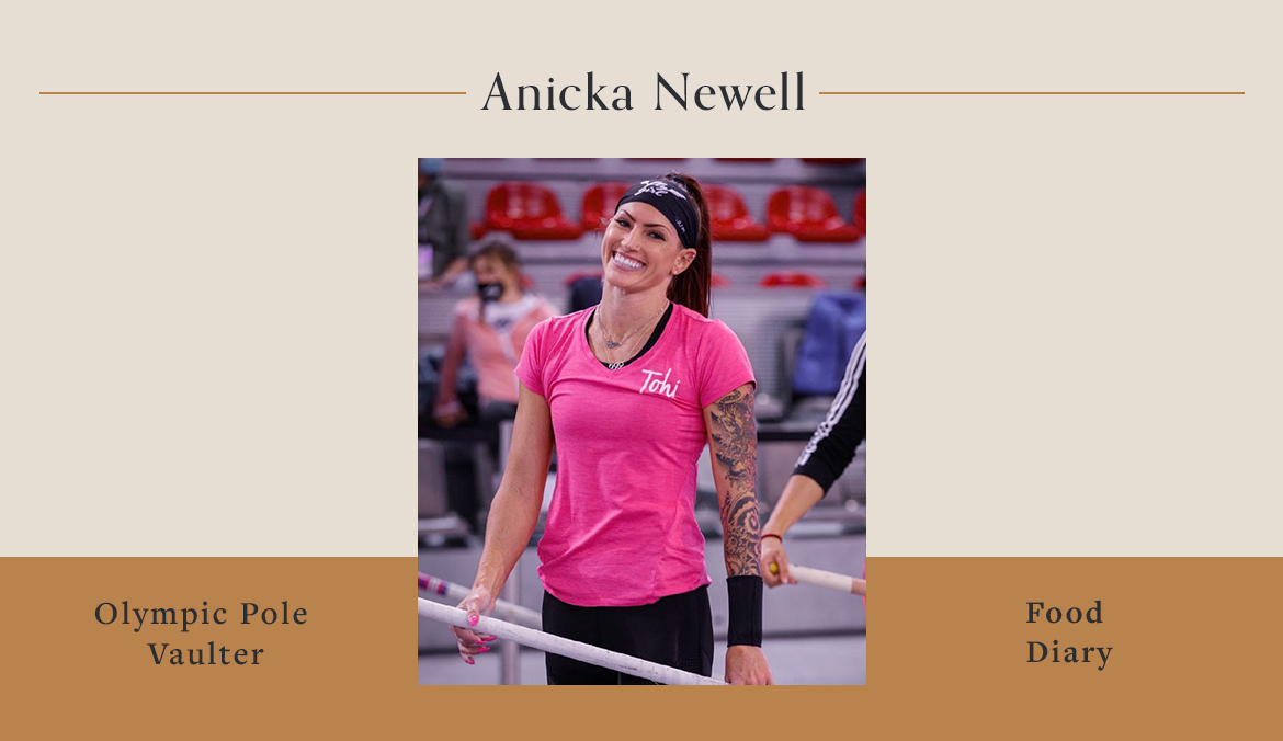 Thumbnail for Here's What Olympic Pole Vaulter Anicka Newell Eats To Fuel Her Training For the Summer Games