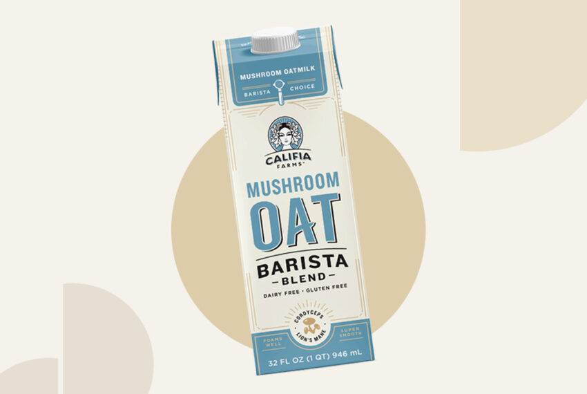The New Califia Farms Mushroom Oat Milk Tastes More Like Dairy Than Any Alt-Milk I've Tried