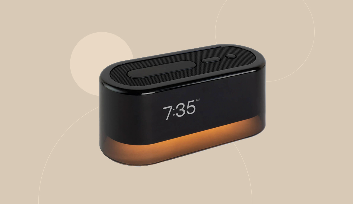 Thumbnail for This Well-ified Alarm Clock Will Help You Keep Your Phone Out of Bed
