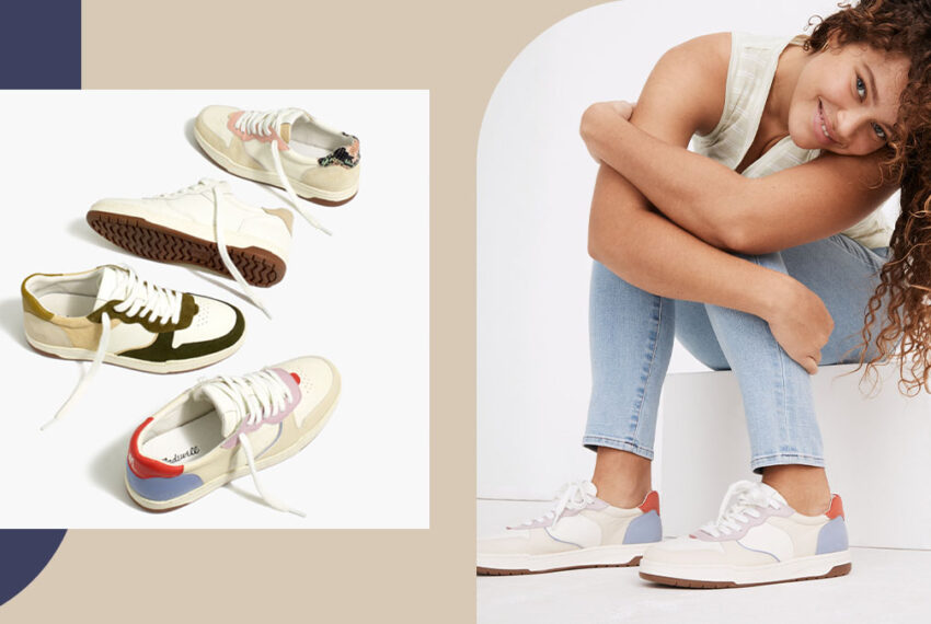 Madewell's Court Sneaker Is Perfect for Stepping Into Spring