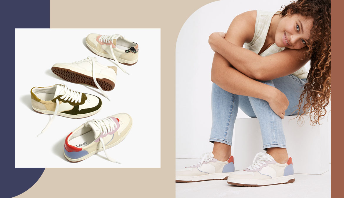 Thumbnail for Madewell's Court Sneaker Is Perfect for Stepping Into Spring