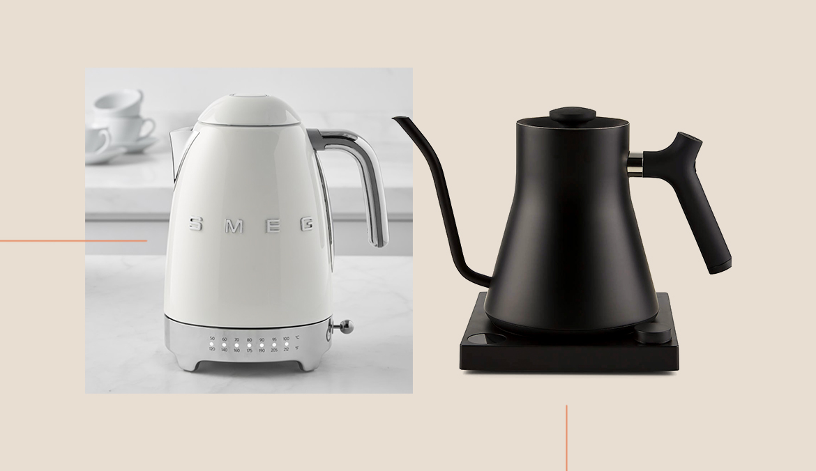 Thumbnail for 6 Adjustable Electric Kettles That Quickly Reach the Perfect Temperature Every Time