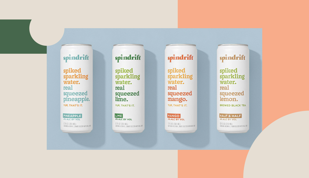 Thumbnail for The Wellness World's Favorite Sparkling Water Brand Just Got Into the Spiked Seltzer Game
