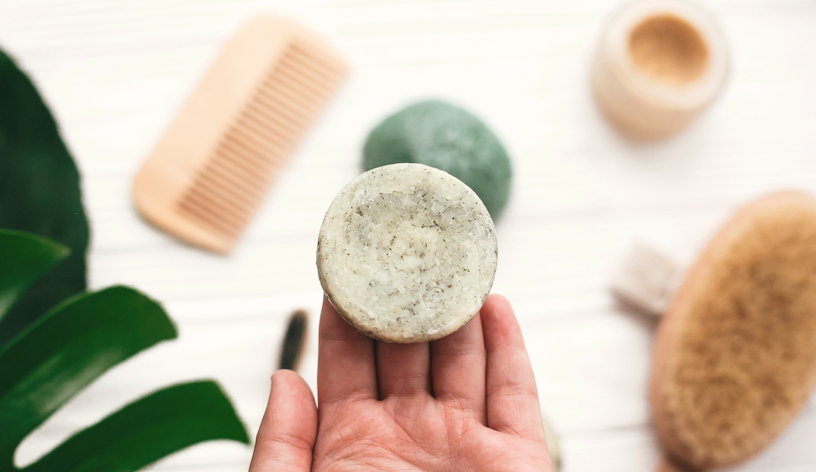 Thumbnail for These Shampoo and Conditioner Bars Have Turned Our Editors Into Solid Shampoo Believers
