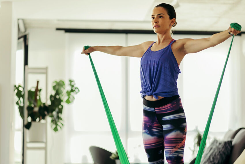 3 Resistance Band Accessories to Upgrade Your Next Low-Impact Sweat Sesh