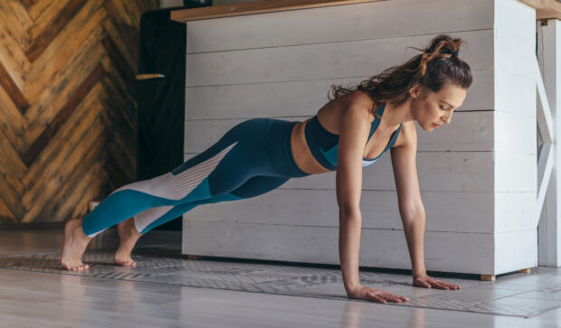 The Full-Body Pilates Workout That Even a Powerlifter Thinks Is Challenging