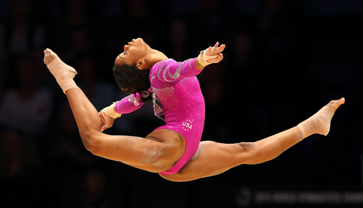 Thumbnail for The One Stretch Olympic Gymnast Gabby Douglas Does Every Day Is Also One of the Easiest