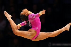 The One Stretch Olympic Gymnast Gabby Douglas Does Every Day Is Also One of the Easiest