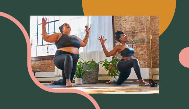 This Yoga Flow for Body Positivity Is All About Trust and Honor