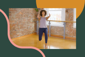 This 15-Minute Lower-Body Barre Routine Makes You Stronger, Centered, and Supported