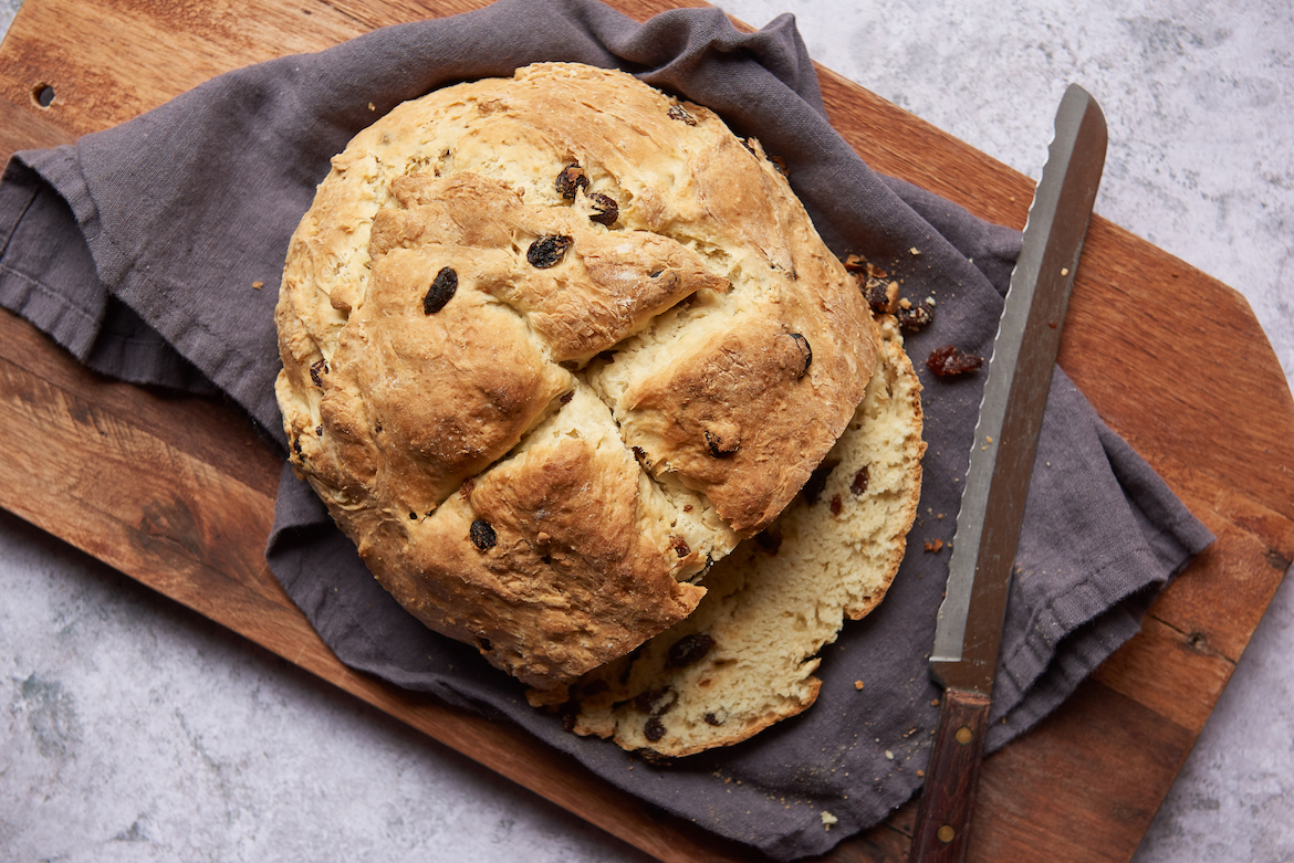 Thumbnail for This Gluten-Free Irish Soda Bread Recipe Makes the Perfect Grab-and-Go Breakfast