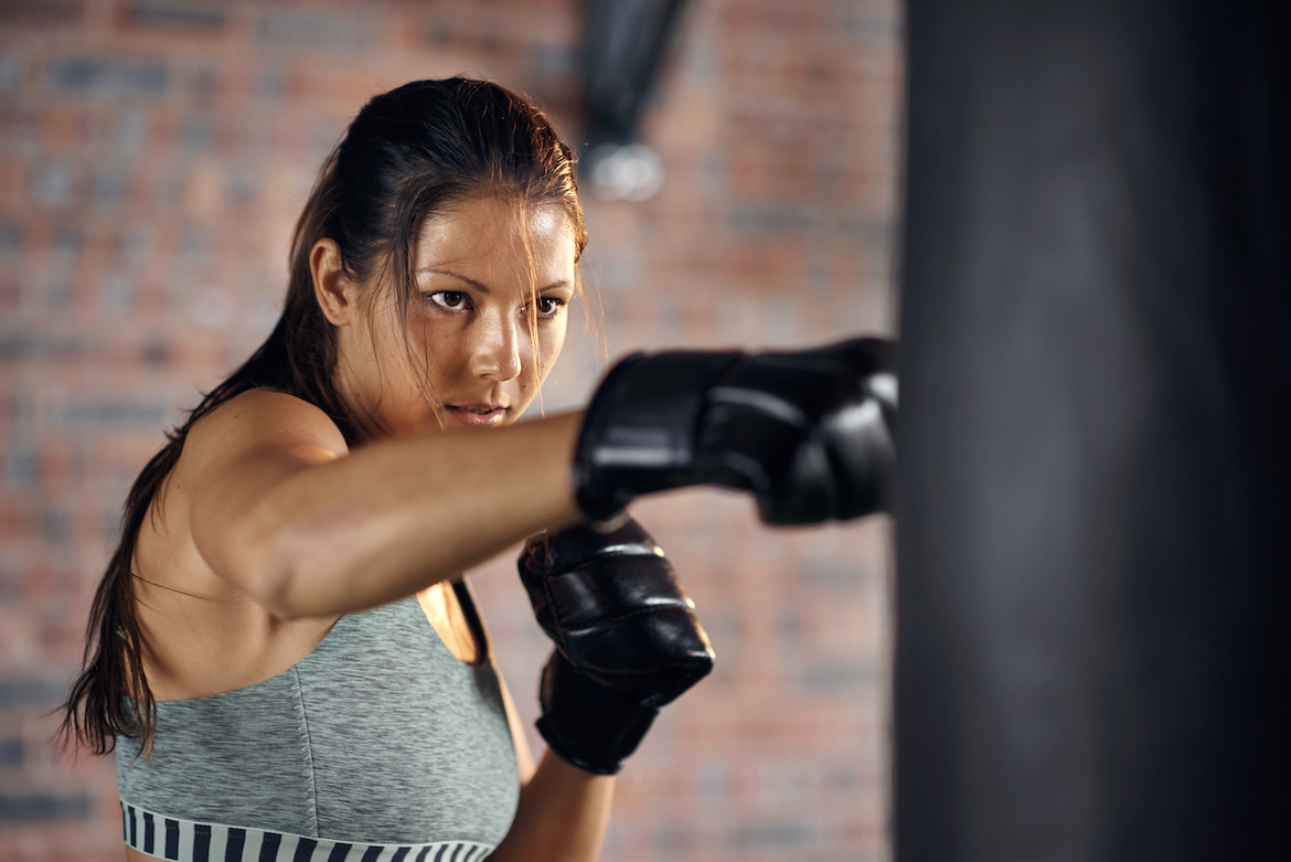 Heavy Bag Workouts Are One of the Best Ways To Relieve Stress (Because of All the Punching)
