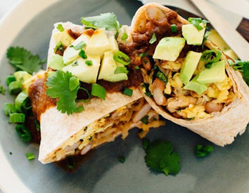 bean breakfast recipes burrito