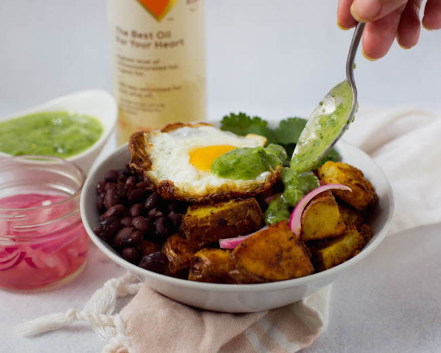 breakfast bean recipes bowl