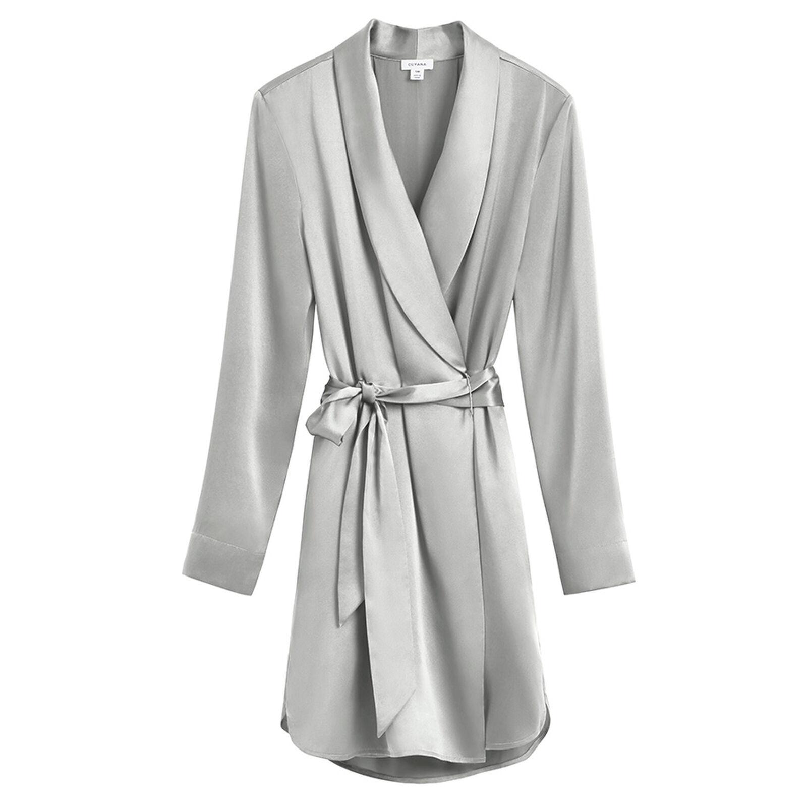 cuyana washable silk robe