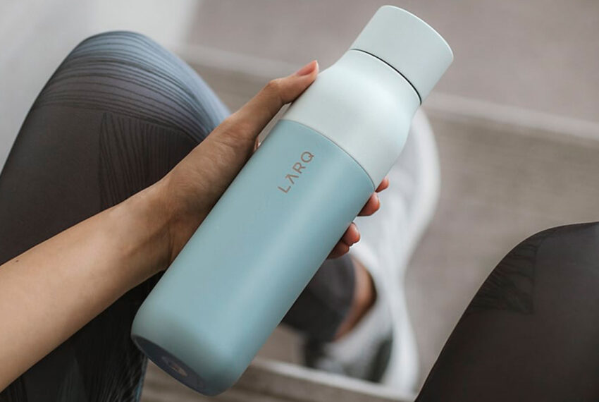This Self-Cleaning Water Bottle Keeps My Water—And Itself—Cool, Clean, and Fresh