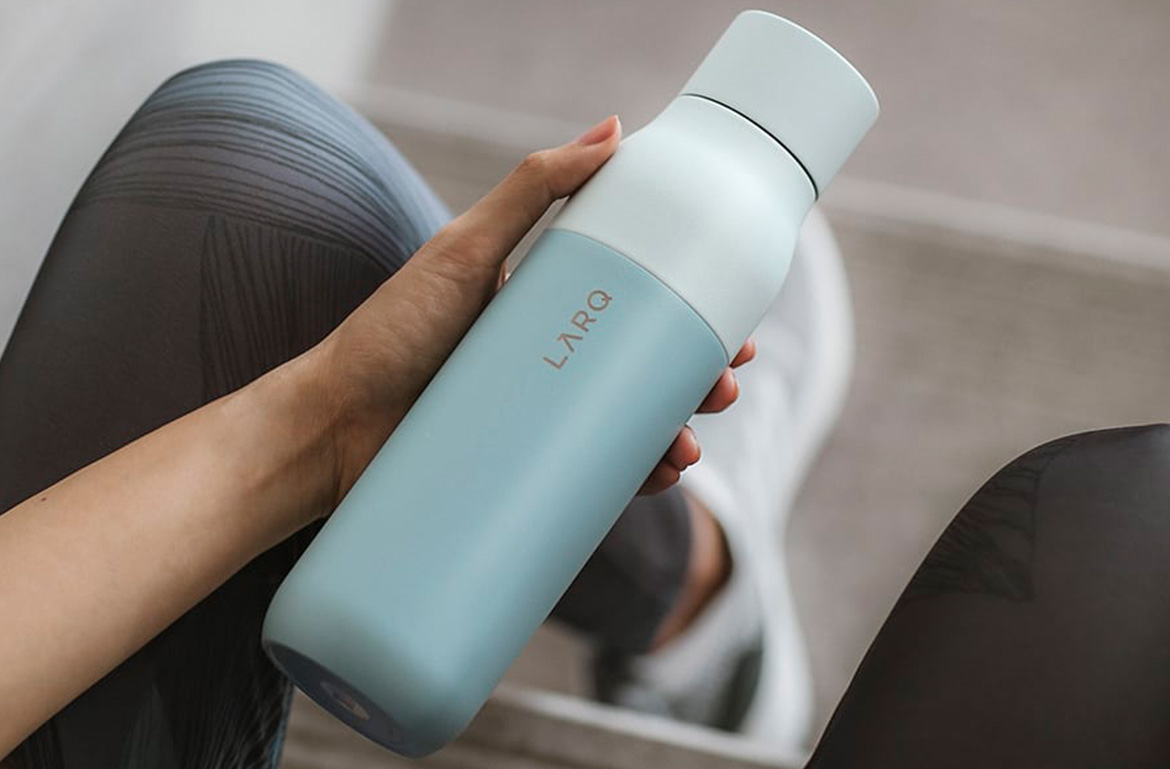 Thumbnail for This Self-Cleaning Water Bottle Keeps My Water—And Itself—Cool, Clean, and Fresh